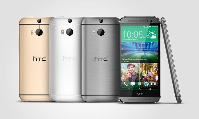 HTC One M8 u svim bojama