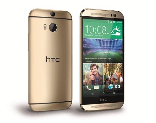 HTC One M8 dolazi i u zlatnoj boji