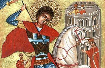 Orthodox_Bulgarian_icon_of_St._George_fighting_the_dragon