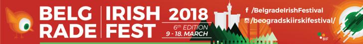 Beogradski irski festival 2018 - LookerWeekly.com baner
